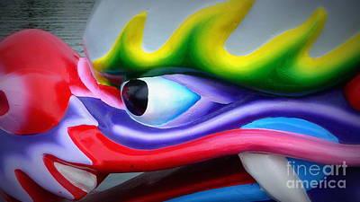 Photograph - Face The Dragon by Susan Garren