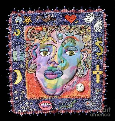 Tapestry - Textile - Face Your Fears by Susan Sorrell