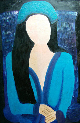 Faceless Lady  Original by Karen Serfinski