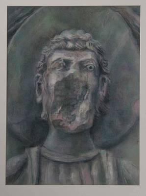 Faceless Saint I  Art Print by Paez  Antonio