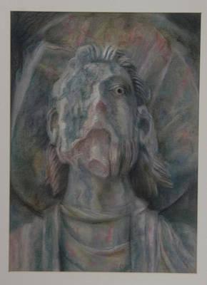 Faceless Saint II  Art Print by Paez  Antonio