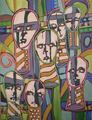 __soldfaces #2 Art Print