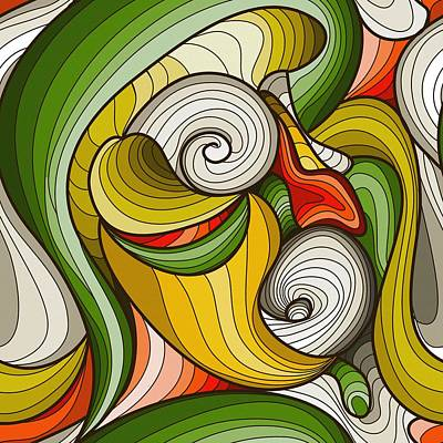 Monkey Pot Art Print by Don Kuing