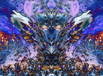 Unicorn Dust - Faces in Water II by Lanita Williams