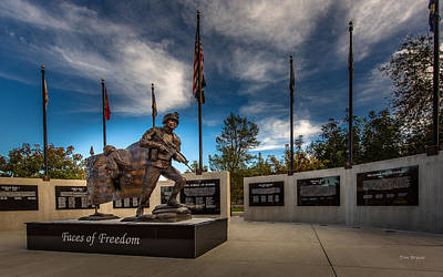 Photograph - Faces Of Freedom by Tim Bryan