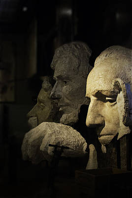 Faces Of Rushmore Art Print