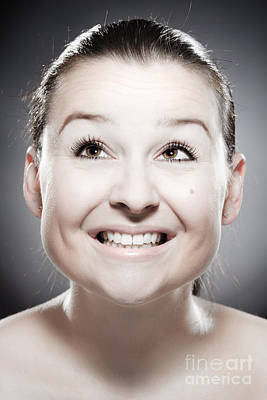 Nonverbal Communication Photograph - Facial Expression by Wolfgang Steiner