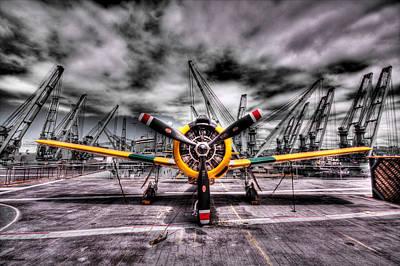 Photograph - Facing Combat by Kyle Simpson