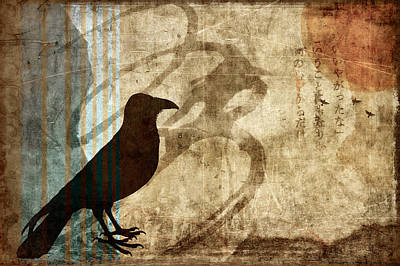 Corvid Photograph - Facing Future by Carol Leigh