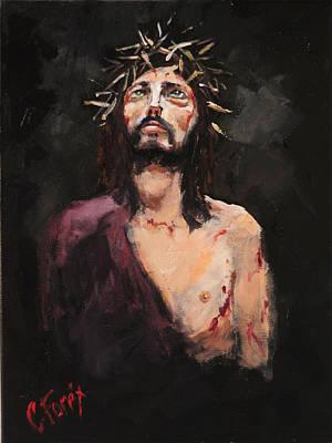 Facing Pilate Original by Carole Foret