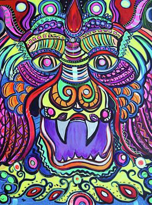 Facing The Dragon Art Print by Lorinda Fore and Tony Lima