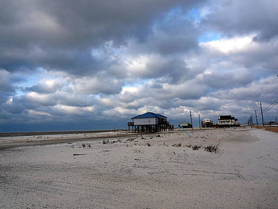 Photograph - Facing The Gulf by David Bearden