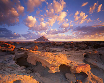 Photograph - Factory Butte by Ray Mathis