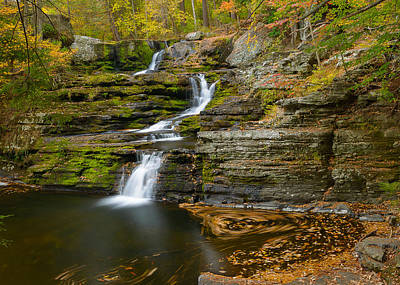Photograph - Factory Falls by Mark Robert Rogers