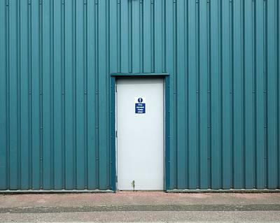 Escape Photograph - Factory Fire Escape by Robert Brook