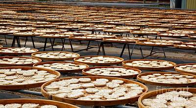Bamboo Photograph - Factory For Sun Dried Noodles In Taiwan by Yali Shi
