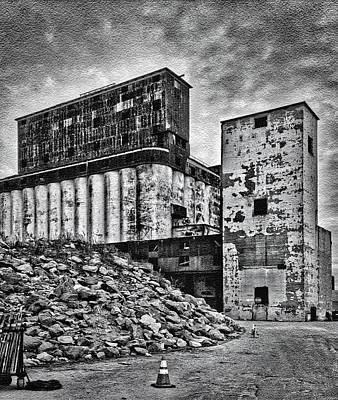 Rubble Photograph - Factory by H James Hoff