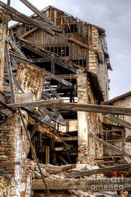 Photograph - Factory Ruin Larissa Greece 10 by Deborah Smolinske