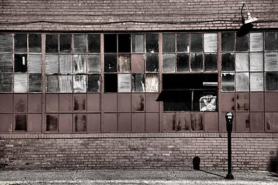 Factory Windows Print by Steven Ainsworth