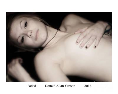 Faded Art Print by Donald Yenson