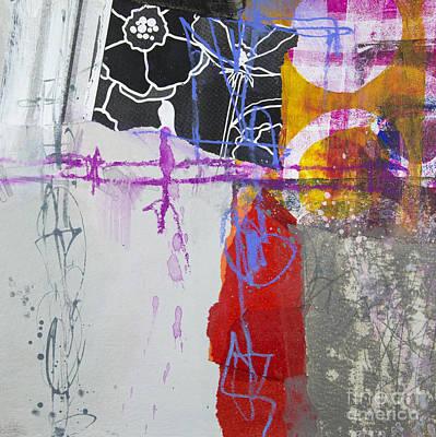 Paper Mixed Media - Faded Flower by Elena Nosyreva