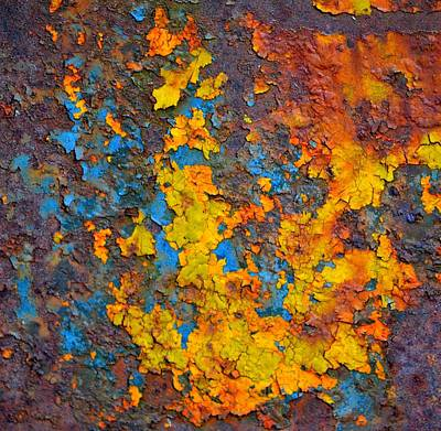 Photograph - Faded Glory Abstract by Deena Stoddard