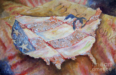 Painting - Faded Glory by Deborah Smith