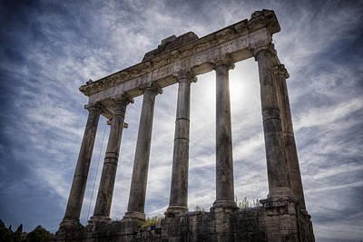 Landmarks Royalty Free Images - Faded Glory of Rome Royalty-Free Image by Joan Carroll