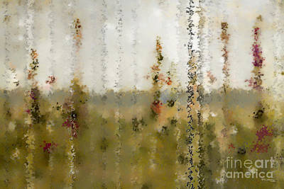 Beige Glass Painting - Faded Memories- Great Big Art by Great Big Art
