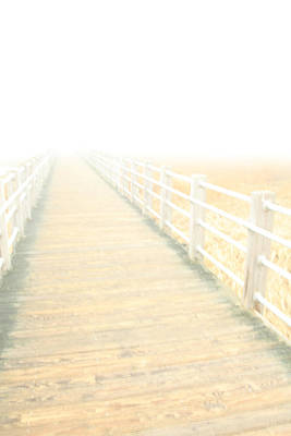 Photograph - Faded Memories Of The Boardwalk by Karol Livote