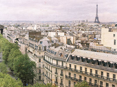 Photograph - Faded Paris by Heidi Hermes