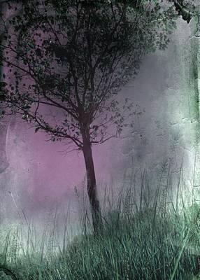 Faded Pink Sky Art Print