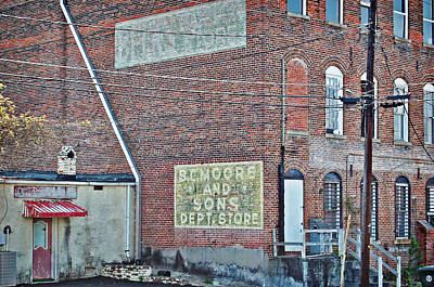 Art Print featuring the photograph Faded Signs by Linda Brown