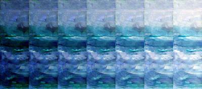 Beach Mixed Media - Fading 2 by Angelina Tamez