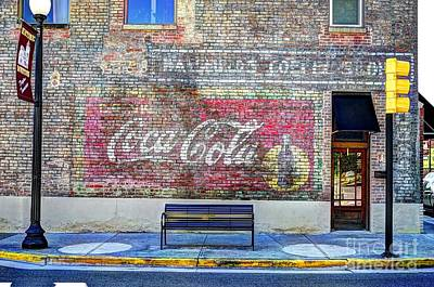 Photograph - Fading Advertising by Paul Mashburn