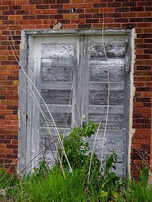 Photograph - Fading Doors by Wild Thing