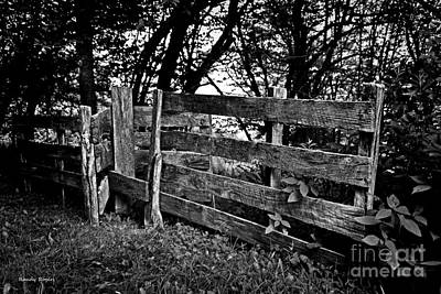 Photograph - Fading Fence by Randy Rogers