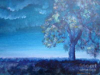 Fading Light Art Print by Laurianna Taylor