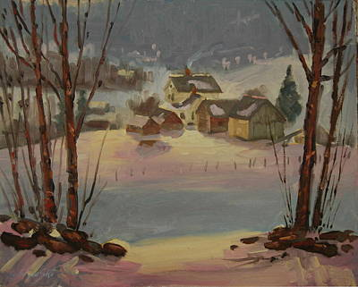 Painting - Fading Light by Len Stomski