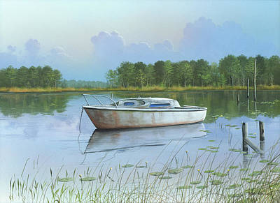 Art Print featuring the painting Fading Memories by Mike Brown