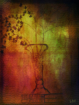 Fading Memory  Art Print by Sherry Flaker