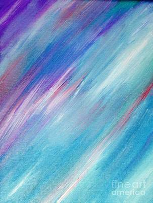 Abstract Poster Painting - Fading by Shawnic Coles