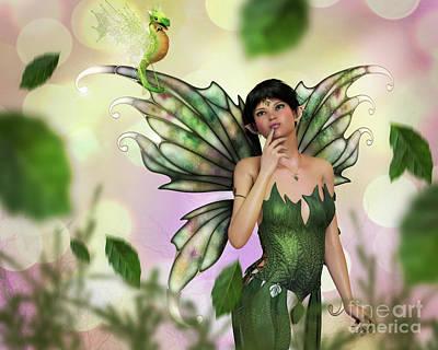 Fae Spring Art Print