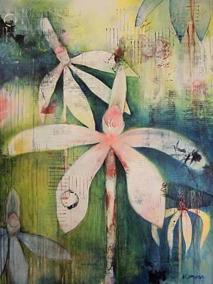 Faerie Fields Art Print by Vivian Mora