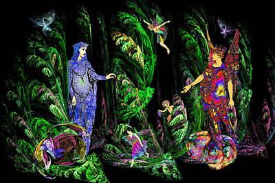 Faery Forest Art Print