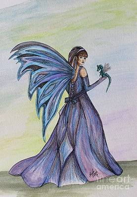 Faery Worlds Art Print