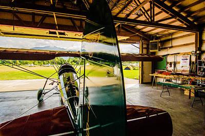 Vinatge Photograph - Fair Child Hangar by Puget  Exposure