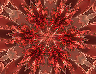 Fairest Of Them All Kaleidoscope Art Print