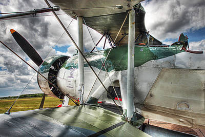 Photograph - Fairey Swordfish - The City Of Liverpool by Andrew Munro