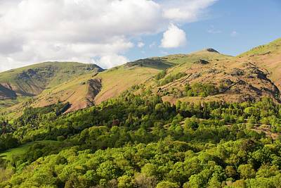 Fairfield From Loughrigg Terrace Art Print by Ashley Cooper